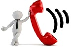 Service-Telefon