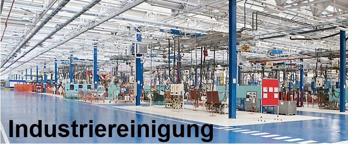 industriereinigung groß